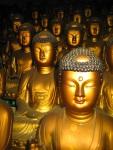 Seokbulsa Golden Buddhas
