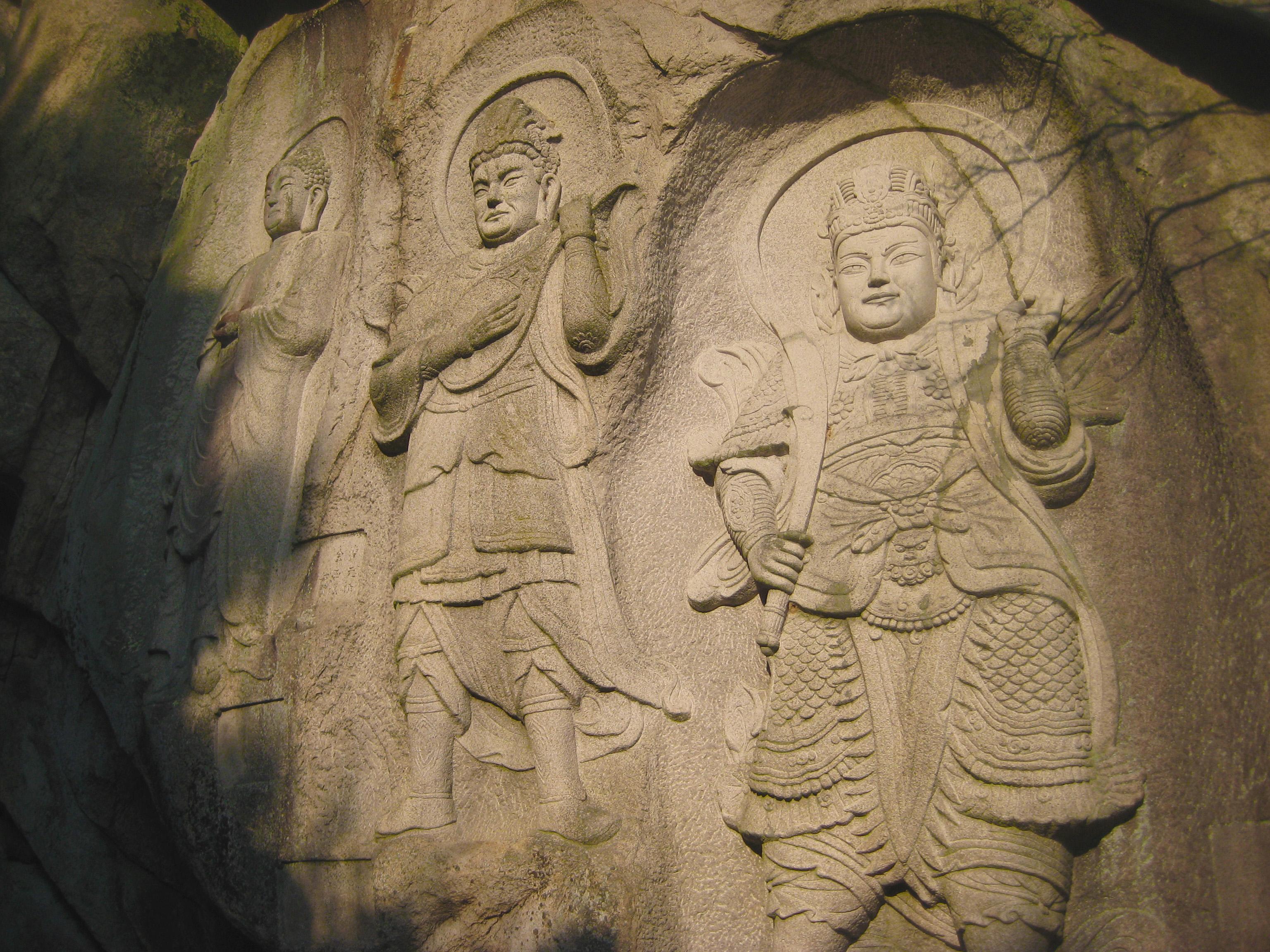 Seokbulsa Stone Guards