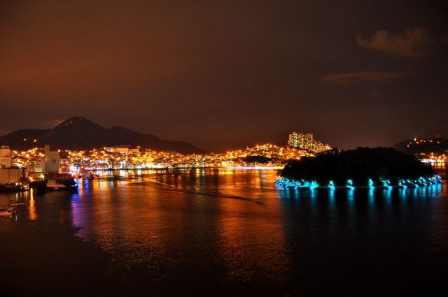 Yeosu Harbor at night