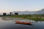 Boat on Dal Lake