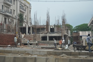 Construction in Delhi
