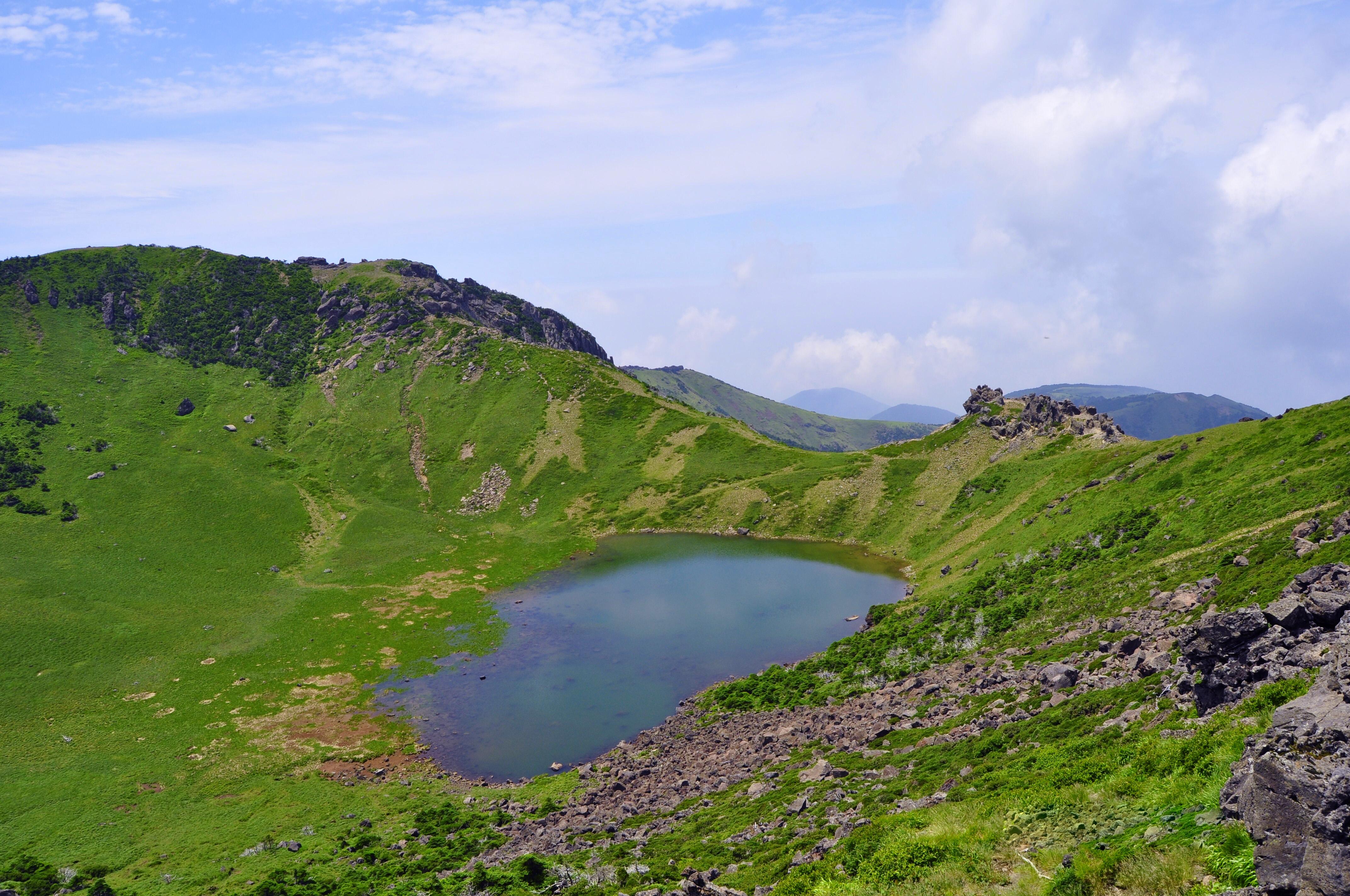 Hallasan Crater Lake
