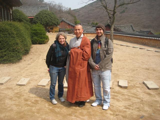 Korean Monk