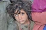 Cute gypsy child