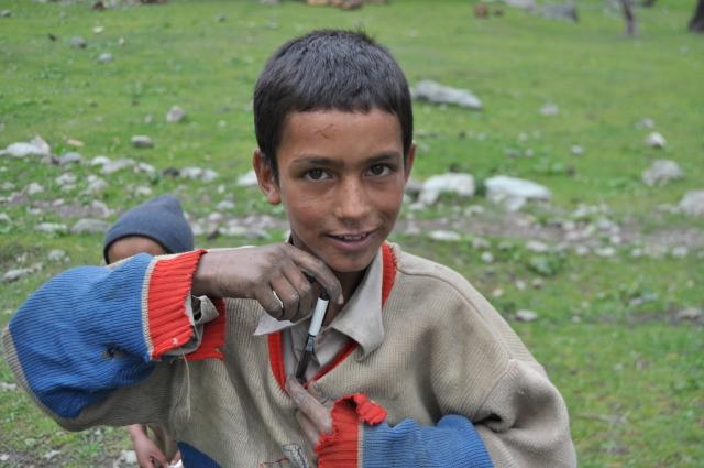 Himalayan gypsy boy