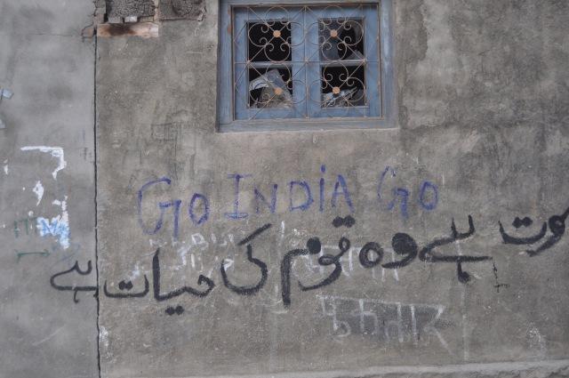Kashmir Conflict Graffiti