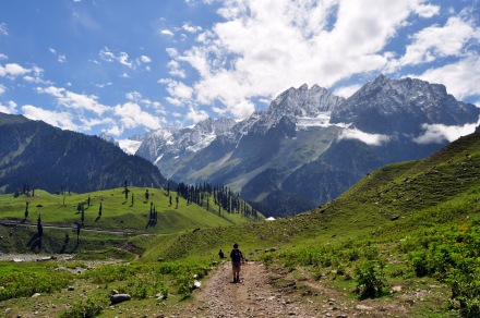 Walking through Sindh Valley