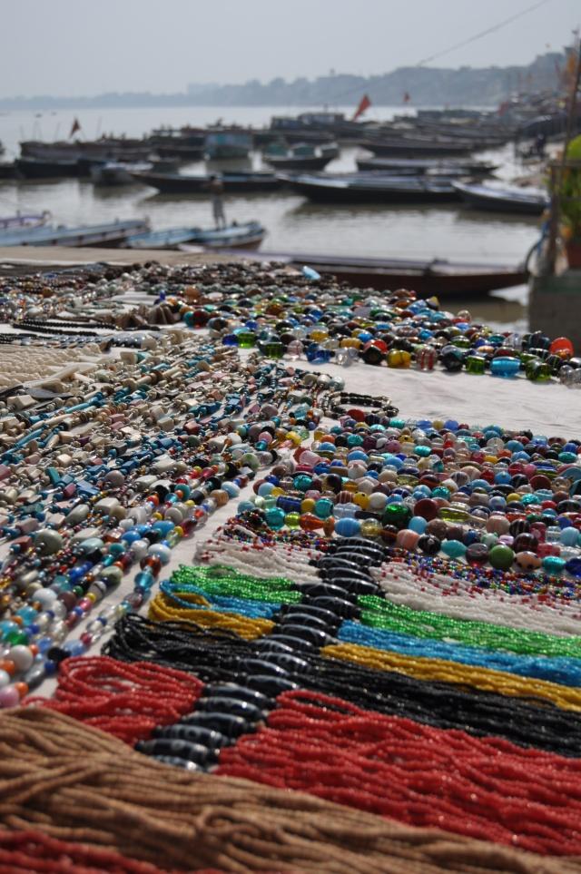 Indian Market Jewelry in Varanasi