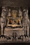 Ajanta Gold Buddha