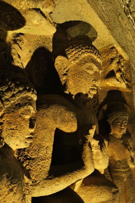 Ajanta Yellow Buddha