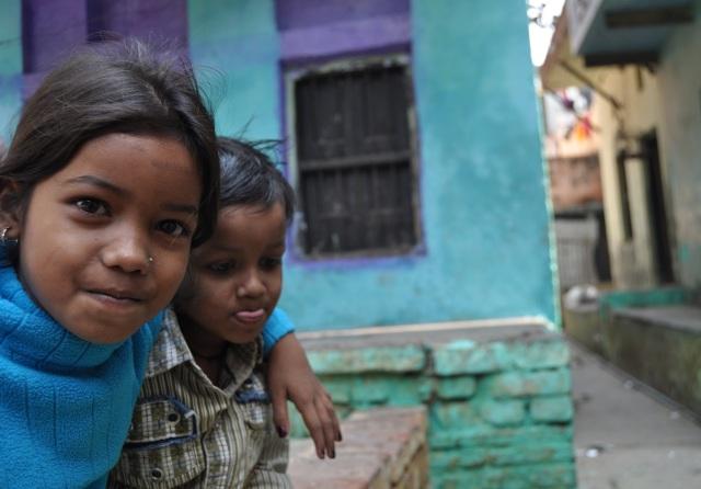 Indian Children - Varanasi