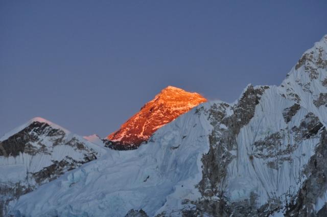 Everest at Sunset from Kala Patthar