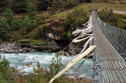 Everest Region Suspension Bridge