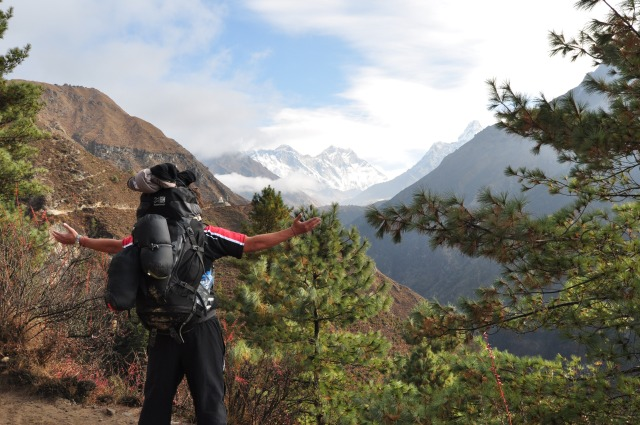 Everest Region Trekking: The Backpack