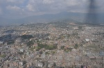 Flying over Kathmandu