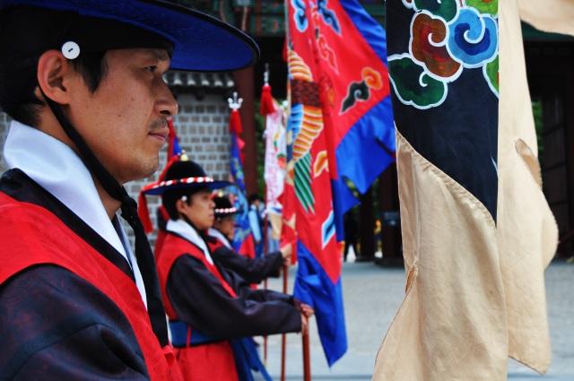 Korean guard (vib & contrast)