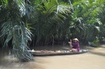 vietnam woman keong delta